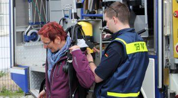 Am Tag der offenen Tür besteht die Möglichkeit, sich hautnah über die Aufgaben und Ausstattung des THW Ahrweiler zu informieren.